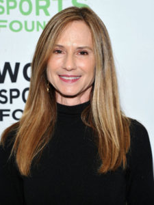 NEW YORK, NY - OCTOBER 19: Holly Hunter attends the 32nd Annual Salute To Women In Sports Gala at Cipriani Wall Street on October 19, 2011 in New York City. (Photo by Mike Coppola/Getty Images)