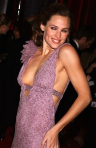 """3/16/03, LOS ANGELES, CALIFORNIA, UNITED STATES --- Jennifer Garner arriving at """"ABC's 50th Anniversary Celebration"""". --- Photo by Frank Trapper/Corbis Sygma"""